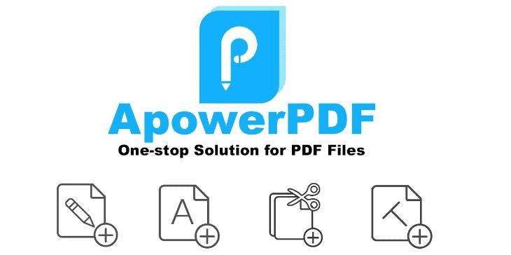 ApowerPDF 5.1.0.716 Crack Plus Key Free Download