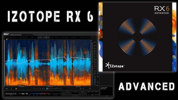 iZotope RX 8.1.0 Advanced 2021 Crack Free Download [Updated]