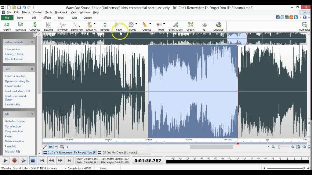 WavePad Sound Editor 12.02 Crack with License Code Full Version