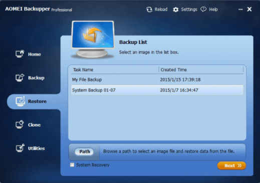 AOMEI Backupper 6.4.0 with Keygen (All Editions Crack) [Latest]