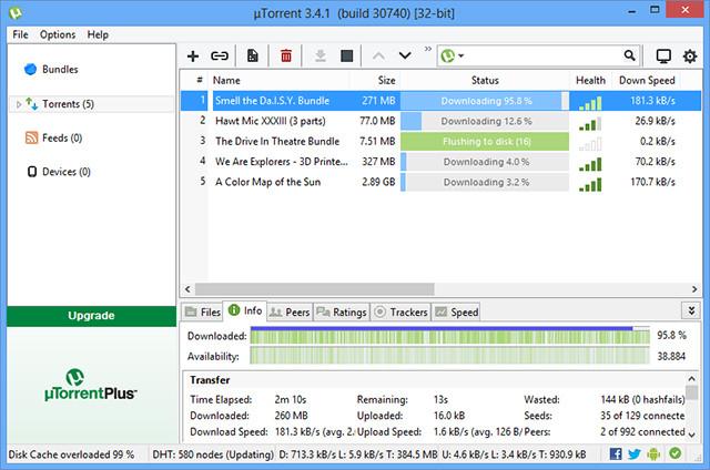 uTorrent Pro Crack 3.5.5 build 45952 Download for PC [Latest]