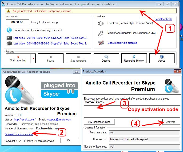 Amolto Call Recorder Premium crack
